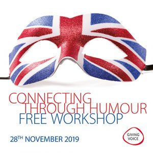Giving Voice - Connecting Through Humour workshop main